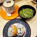 At $1.60 per plate, Nihon Mura offers a selection of sushi, appetizers, side dishes and desserts!