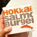 The new limited edition Hokkaido Salmon Burger!