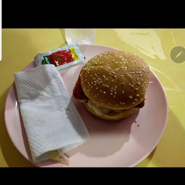 Fish Burger $3