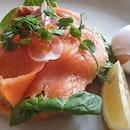Salmon & Hash $25