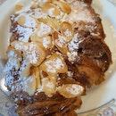Almond Croissant $5