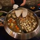 Seafood tofu stew $24