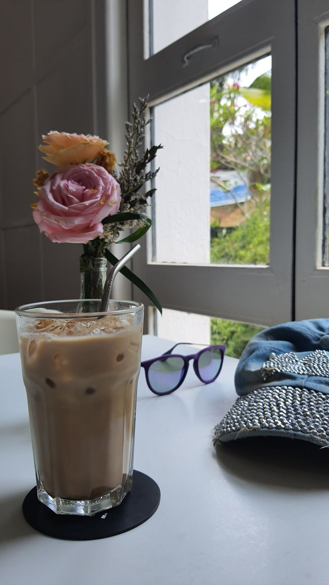 Rose Latte Iced $7