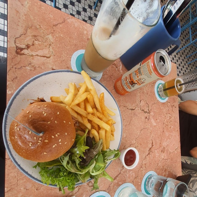 Beef Burger $24++