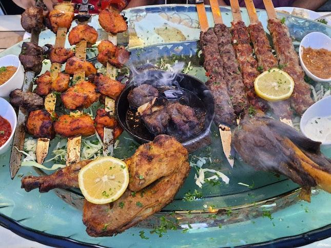 Platter Meat $100++