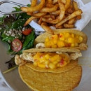 Crispy Fish Fillet Tacos - $25++