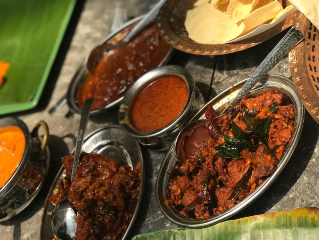 Indian food fare
