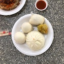 i'm the type that needs to eat a satisfactory version of what i'm craving or i won't back down, so naturally i had to go satisfy my unsatisfied steamed bun / bao cravings today 😬 i requested to come to this hawker centre so that i can have my favourite steamed baos from Teochew Handmade Pau!!!