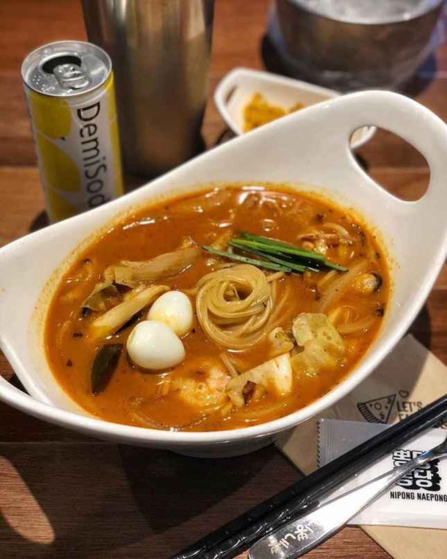 I need a noodle upsize for my Cha Pong in the next round 🤤🍜
