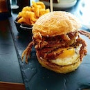 Soft Shell Crab Burger  What a delightful burger to look at!