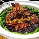 Traditional Steamed Claypot Rice with Chinese Sausage ($108+)