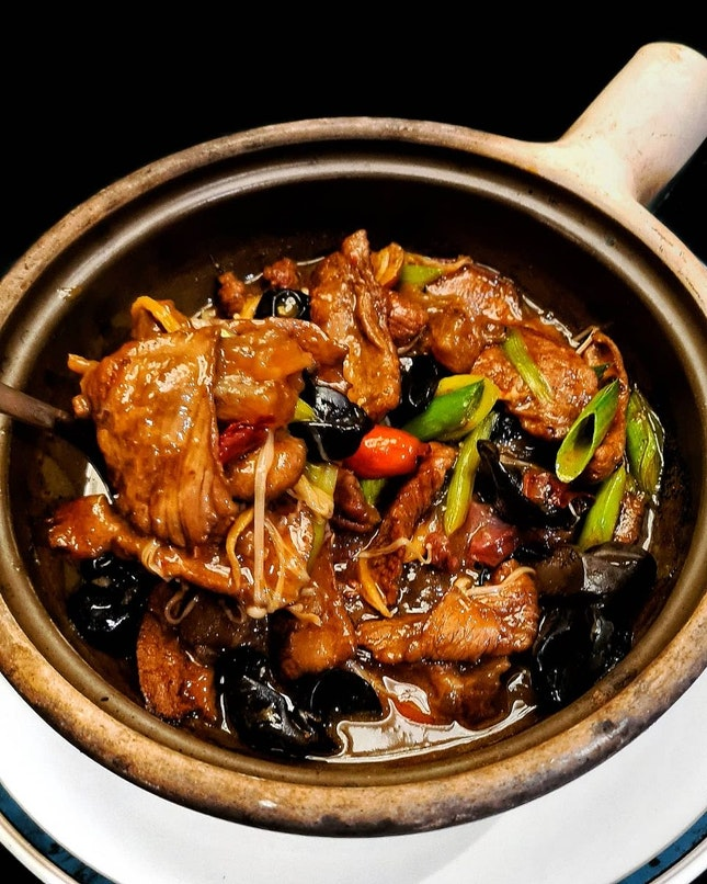 Braised Venison with Vermicelli in Spicy Chilli Sauce