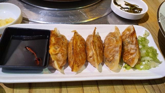 Vegetarian Kimchi Dumplings