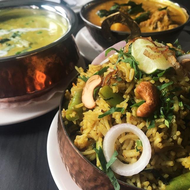 Madurai Vegetable Briyani (RM28)