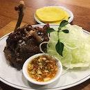 Crispy Duck 'haji slamet' (RM45, quarter)