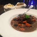 """Dobe de Sanglier"" (Wild Boar in Red Wine Sauce, RM42)"