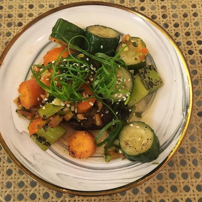 Charred Seasonal Vegetables (RM12)