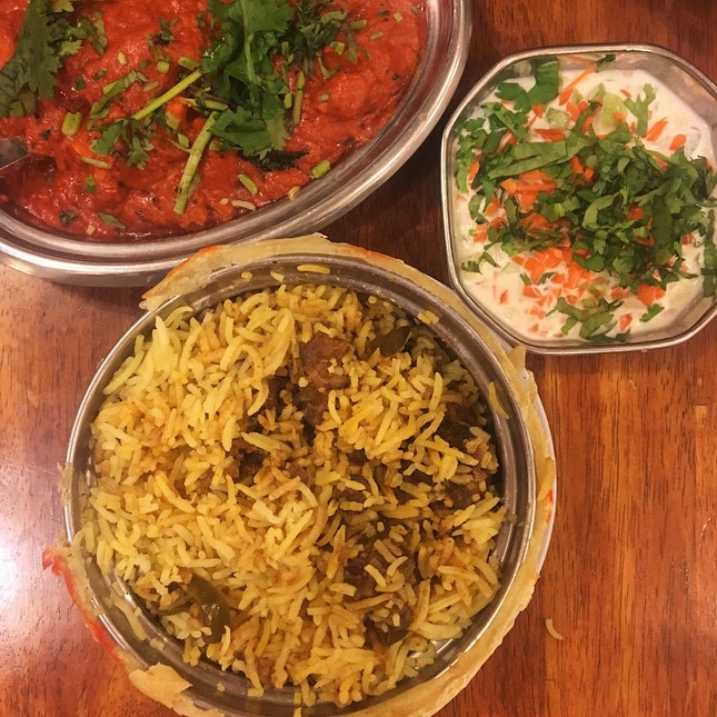 Hyderabadi Dum Mutton Briyani (RM24)