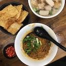 Dry Pork Noodles (RM8)