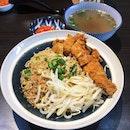 Kolo Mee w Chicken (RM10.90)