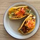 Mushroom Taco (RM7), Lamb Taco (RM7)