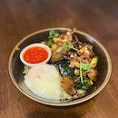 Market Vegetable Rice Bowl (RM18)