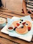 Soufflé Pancakes ($14)