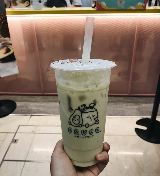 Avocado Coconut Milkshake