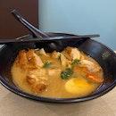 Thai Crispy Chicken Tom Yum Soup