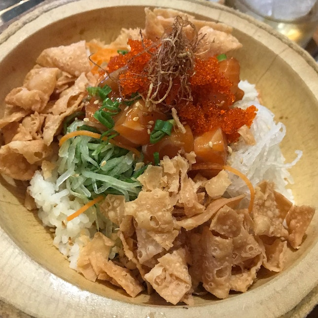 Salmon Yusheng Bowl