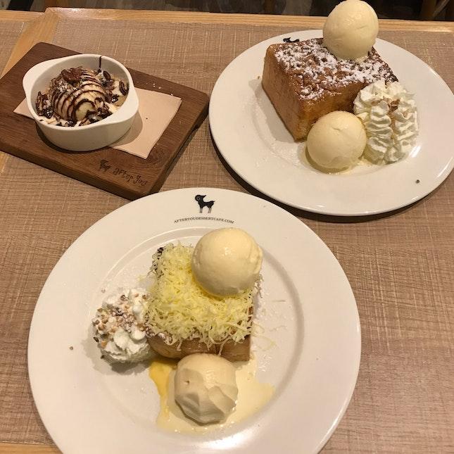 Ice Cream Toasts
