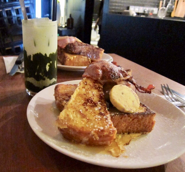 Wicked Matcha and Savoury French Toast