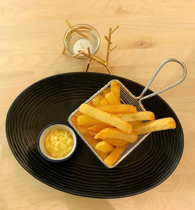 🍋 Lemon Zest Fries