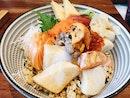 salmon chirashi don $24
