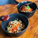 [Outram/INVITED TASTING] According to Chikin, their Unagi Garlic Fried Rice with Fish Roe ($16) is the most popular item here, frequently receiving rave reviews.