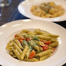 [Tanjong Katong] The pesto ($16.90) was light yet it retained the fresh and savoury flavours of the herbs; with small bursts of sweetness from the cherry tomatoes.