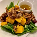 Roasted pumpkin salad ($19.50).