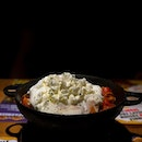 Who ever knew that curry could go well with whipped cream?
