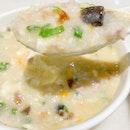 Minced Pork & Century Egg Porridge