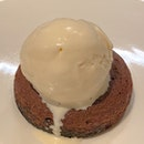Chocolate Fondant & Smoked Ice Cream ($14)