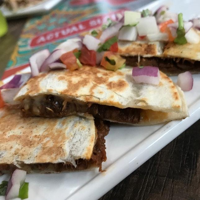Braised Beef Quesadilla