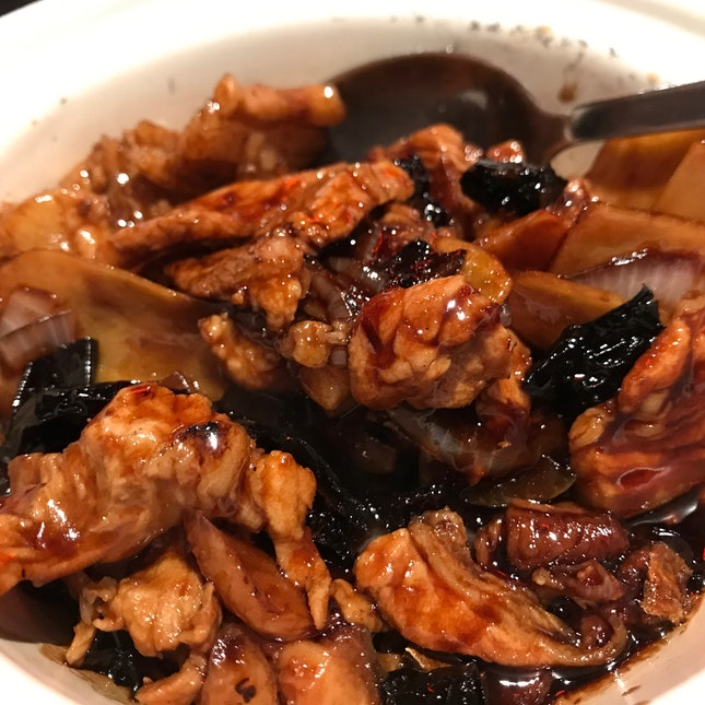 Claypot Pork Belly With Salted Fish
