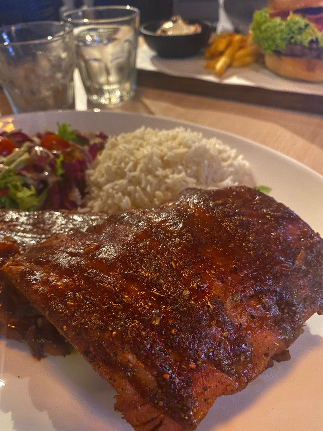 Dry-rubbed Baby Back Ribs