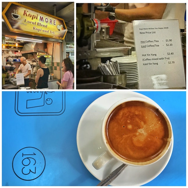 Review on Hot Coffee ($1.90)
