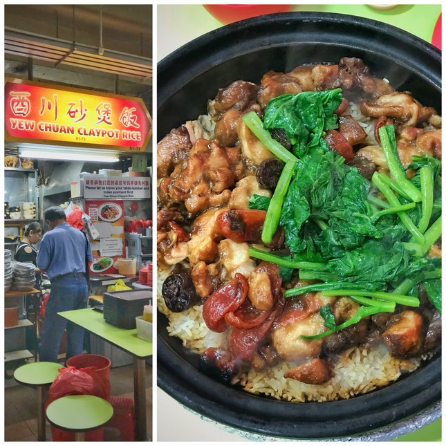Review on Claypot Rice ($28; opted for top up of ingredients)