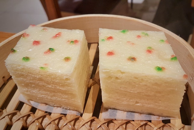 Review on Steamed Chinese Style Layer Cakes 千层油糕 ($4 For 2pcs)