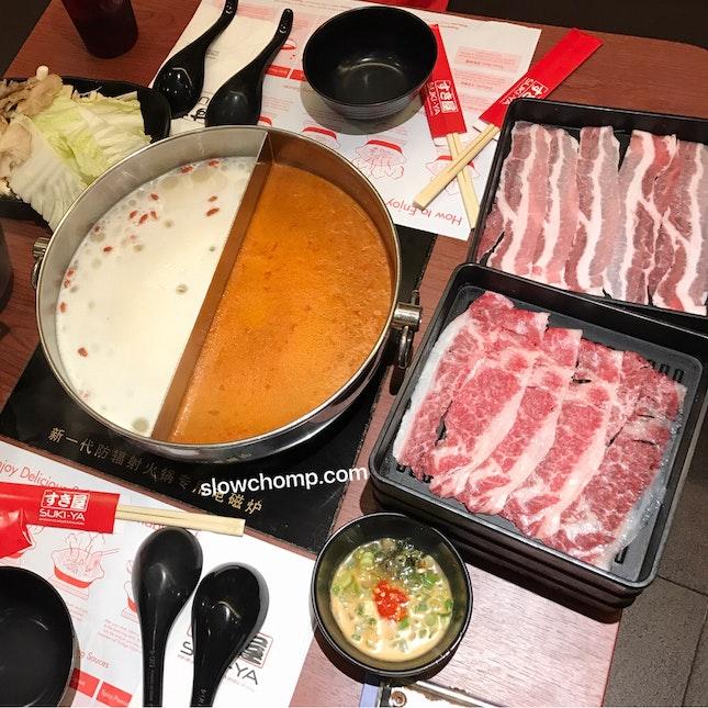 Shabu-Shabu Lunch With Premium Add-on