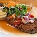 Tuna Steak, 390baht