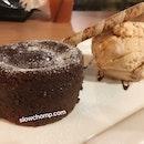 Chocolate molten lava, $11.90++