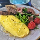 Truffle-infused omelette